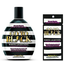 Supre Tan Go To Black WHITE LIGHTNING Incredible Dark Bronzer -Same Day Dispatch