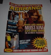 KERRANG! Magazine March 1995 Dave Mustaine