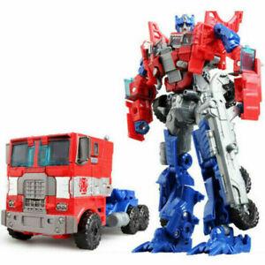 "7"" Optimus Prime Transformer of Extinction Voyager Evasion Action Figure Toy Kid"