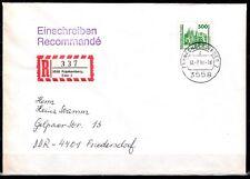 DDR  3352, 5,00 DM aus Jahrgang 1990 II auf Brief, einwandfreie Qualität, s.Bild