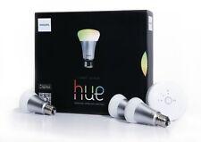 Philips Hue LED Lampe Starter Set inkl Bridge 16 Mio Farben Starter Set 3 Lampen