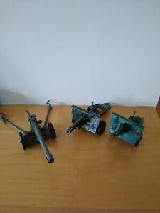 BRITAINS Field guns - Cannon's joblot - Diecast army toys