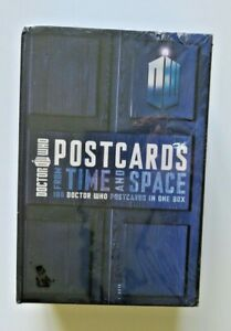 Doctor Who 100 Postcards From Time and Space Box BBC Graphic Novel Comic Book