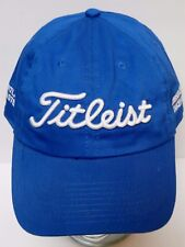 2009 TITLEIST GOLF BALLS CLUBS Advertising HAT CAP Heartland Waste JOCO CANCER