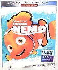 Finding Nemo Blu Ray Dvd New Sealed Disney Pixar Animation Digital Code
