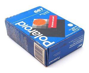 "Polaroid 667 Twin Film Pack 3 1/4 x 4 1/4"" - Expired 1999"