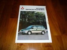 Mitsubishi Space Runner Prospekt 06/1998