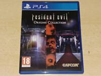 Resident Evil Origins Collection PS4 Playstation 4 UK Game **FREE UK POSTAGE**