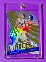 Luka Doncic LIFTOFF REFRACTOR INSERT 2021 PANINI REVOLUTION HOT MAVS CARD Mint!