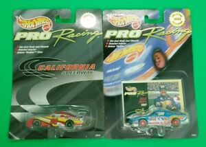 (2) Hot Wheels Pro Racing Collector 1st Edition 1998 All NIP!