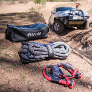 8K Heavy Duty Kinetic Recovery Kit | Saber Offroad