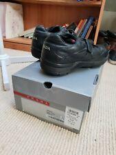 Mens Black Prada Shoes Trainers Lace Strap UK 6.5