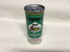 VINTAGE SNOWMOBILE OIL CAN BARDAHL Ski Doo Arctic Cat