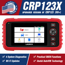 X431 CRP123X OBD2 Scanner Automotive Code Reader Engine ABS SRS Diagnostic Tool