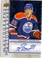 "RYAN NUGENT-HOPKINS       2015/16   ""TIM HORTONS""    NHL  AUTOGRAPHS    # A - RN"