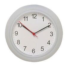 IKEA RUSCH Wanduhr Küchenuhr Uhr weiß 25 cm Wanduhr Bahnhofsuhr Großuhr NEU OVP