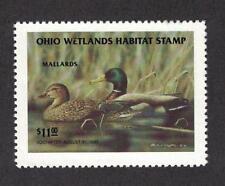 OH13 - Ohio State Duck Stamp.  Single. MNH. OG.