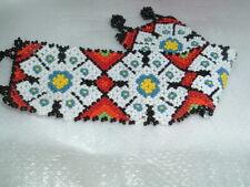 Mens Southwest Glass Beaded Wide Bracelet in Gift Box