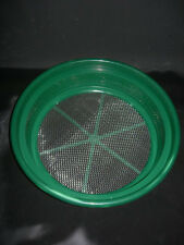 "Gold Pan Panning Classifier Mesh 1/8"" Screen Sifter W/FREE Vial! Prospecting"