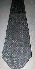 NEW 100% Silk Geometric/Polka Dot Design Necktie