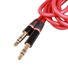 """RED 3.5mm 1/8""""Audio cable AUX-In cord For Beats Pill SE Pill XL Wireless Speaker"""