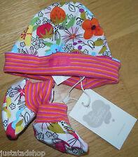 Catimini baby girl hat & socks set  T1  3-6 m New BNWT designer