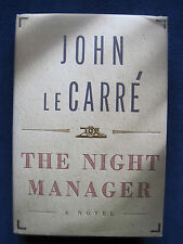 JOHN LE CARRE - THE NIGHT MANAGER - First American Edition
