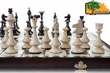 HIGHLANDER-Grande 50cm / 14,5 in realizzato a mano in legno set di scacchi Professional Staun