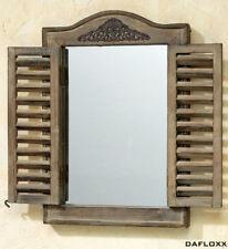 Miroirs muraux marron rectangulaire pour la décoration intérieure