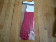 NEW  ! ADULT LONG RED HALLOWEEN GLOVES ONE SIZE FITS MOST
