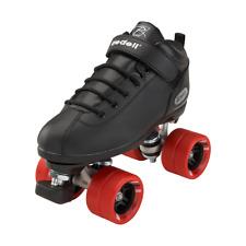 Riedell Dart roller skate quad size 5 black men's fits 6 women's
