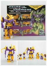 Transformers G1 Reissue Devastator Yellow Decepticons Robot Toy Christmas Sale