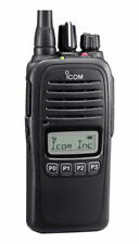 Icom F1000S Waterproof Vhf 128 Ch 136-174Mhz Two Way Radio w/Software & Cable