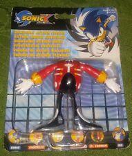 Sonic X DR. EGGMAN / Dr Robotnik Sonic The Hedgehog MOC Super Rare Action Figure