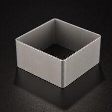 1x hornear azúcar cuadrado pastel galleta galleta cortador ornamento molde