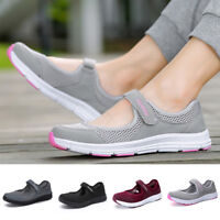 Women Outdoor Mesh Breathable Sports Shoes Summer Casual Sneakers Running Slip J