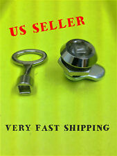 Lot of 5 Steel Cam Lock Electric Panels Covers Cabinet With Key # 060.1.1.28.10