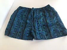 Vtg 80s/90s PRO SPIRIT Floral print Mens XL Swim suit trunks Nylon shorts