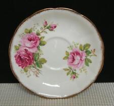 AMERICAN BEAUTY Royal Albert Bone China SAUCER FOR CREAM SOUP BOWL England Roses