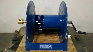 Coxreels 1125-5-100 3/4 In 100 Ft Max Hose L Heavy Duty Hand Crank Hose Reel