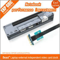PCI-E NGFF V8.0 EXP GDC Laptop External Independent Video Card Dock For Beast