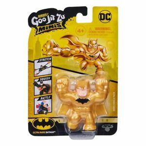 Heroes of Goo Jit Zu Minis Ultra Rare Batman - Brand New
