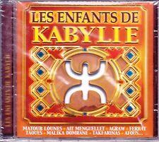 LES ENFANTS  DE KABYLIE cd 10 TITRES SOUS CELLOPHANE NEUF 4820 EDENWAYS
