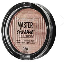 MAYBELLINE MASTER CHROME METALLIC HIGHLIGHTER POWDER 050 MOLTEN ROSE GOLD NEW