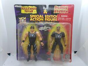 WCW NWO Hollywood Hogan Dennis Rodman 2-Pack Figures  WWE Wrestling 1997