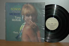 Tony Mottola Love songs from Mexico D Original Command Vinyl LP clean sauber TOP