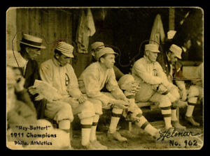 R318-Helmar Hey-Batter! #162 1911 Philadelphia Athletics  Philadelphia Athletics