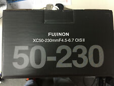 FUJIFILM FUJINON XC 50-230mm f/4.5-6.7 OIS II X-Mount Lens Black ( Retail Box )