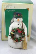 Hallmark 2005 Winter Friends Snowman Figurine