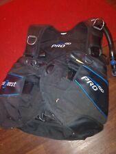 Sea Quest Pro QD Diving BC Vest Black Medium/L